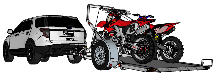 Trailer building plans moto cross9g malvernweather Gallery