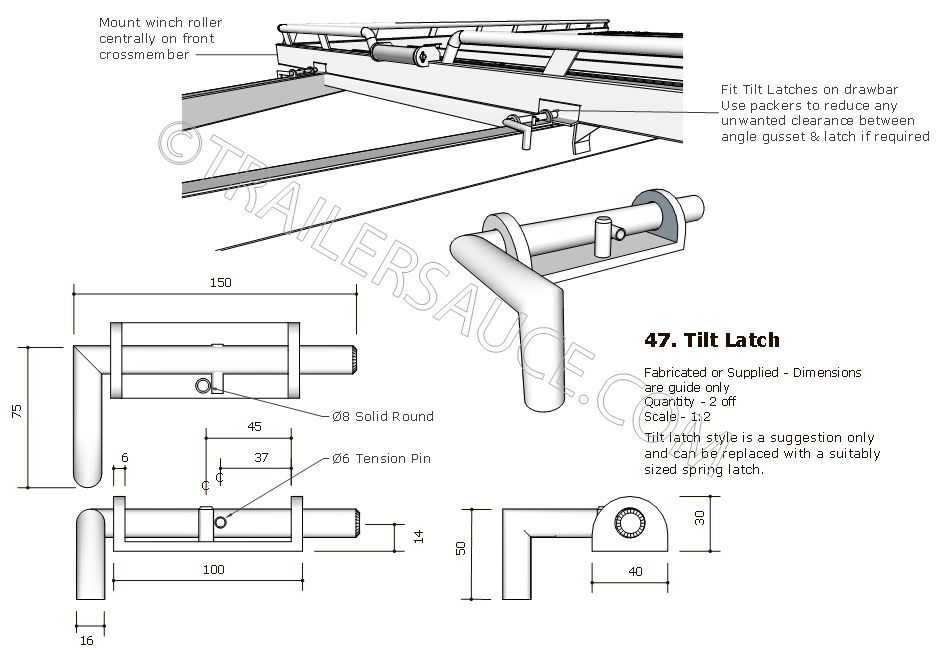 tilt bed trailer diagram example electrical wiring